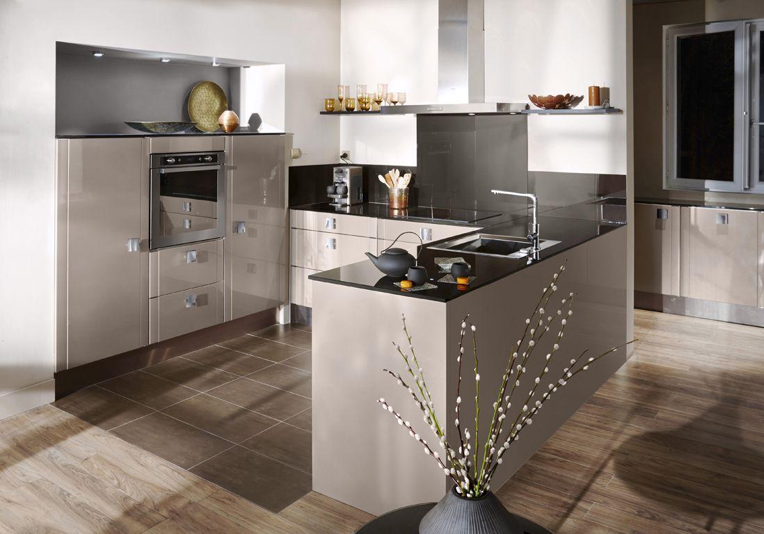 Cuisine Lapeyre Nos Modeles De Cuisine Preferes Elle Decoration Cuisine Contemporaine Cuisine Lapeyre Cuisine Moderne