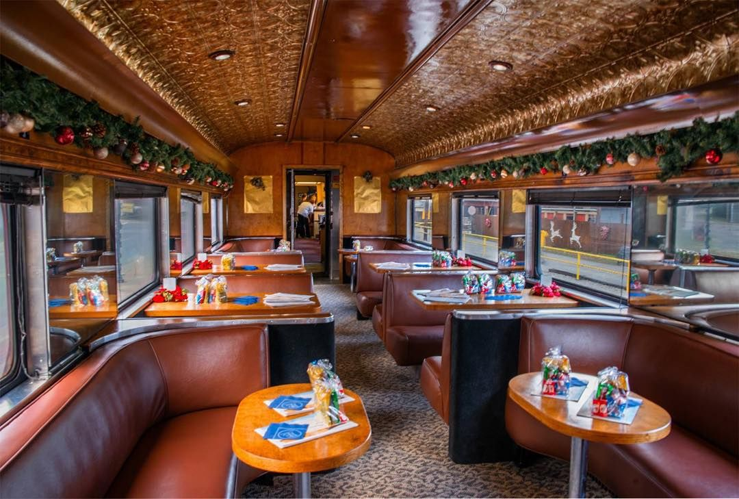 Visit Bryson City Nc On Instagram Inside The First Class Section Of The Polar Express Great Smoky Mountai Polar Express Great Smoky Mountains Bryson City Nc
