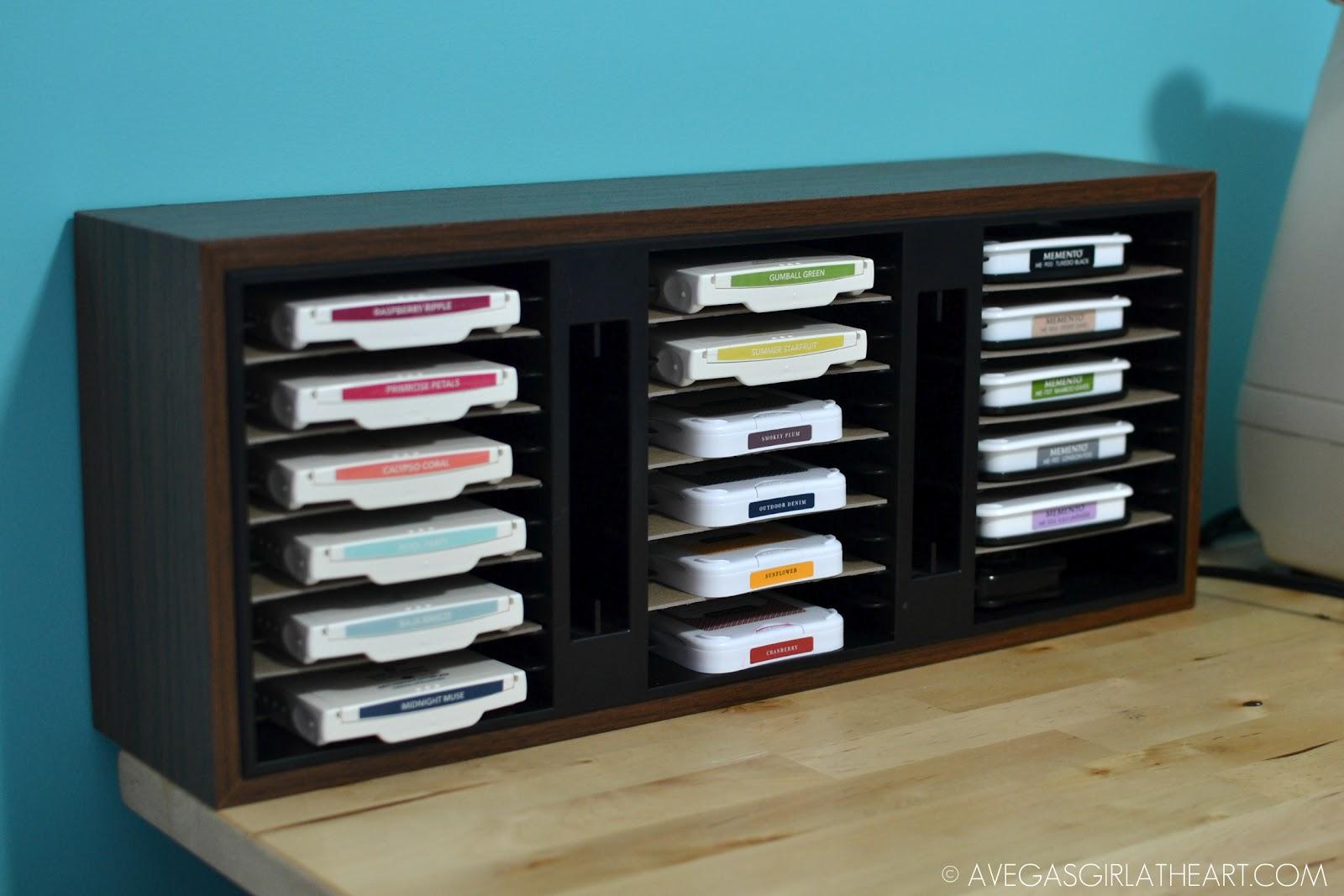 Inexpensive Ink Pad Storage