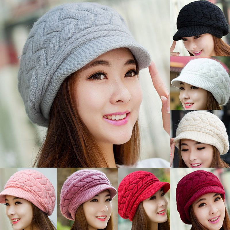 e64caf8fa01 Hot Women Ladies Beret Winter Warm Baggy Beanie Knit Crochet Hat Slouch Ski  Cap  fashion  clothing  shoes  accessories  womensaccessories  hats (ebay  link)