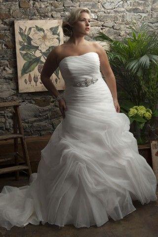 Tampa Callista Plus Size Wedding Dresses