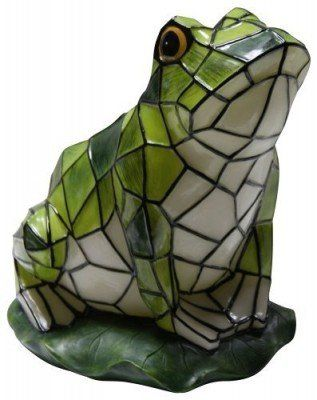 Charmant Amazon.com: Solar Mosaic Frog Garden Statue: Patio, Lawn U0026 Garden