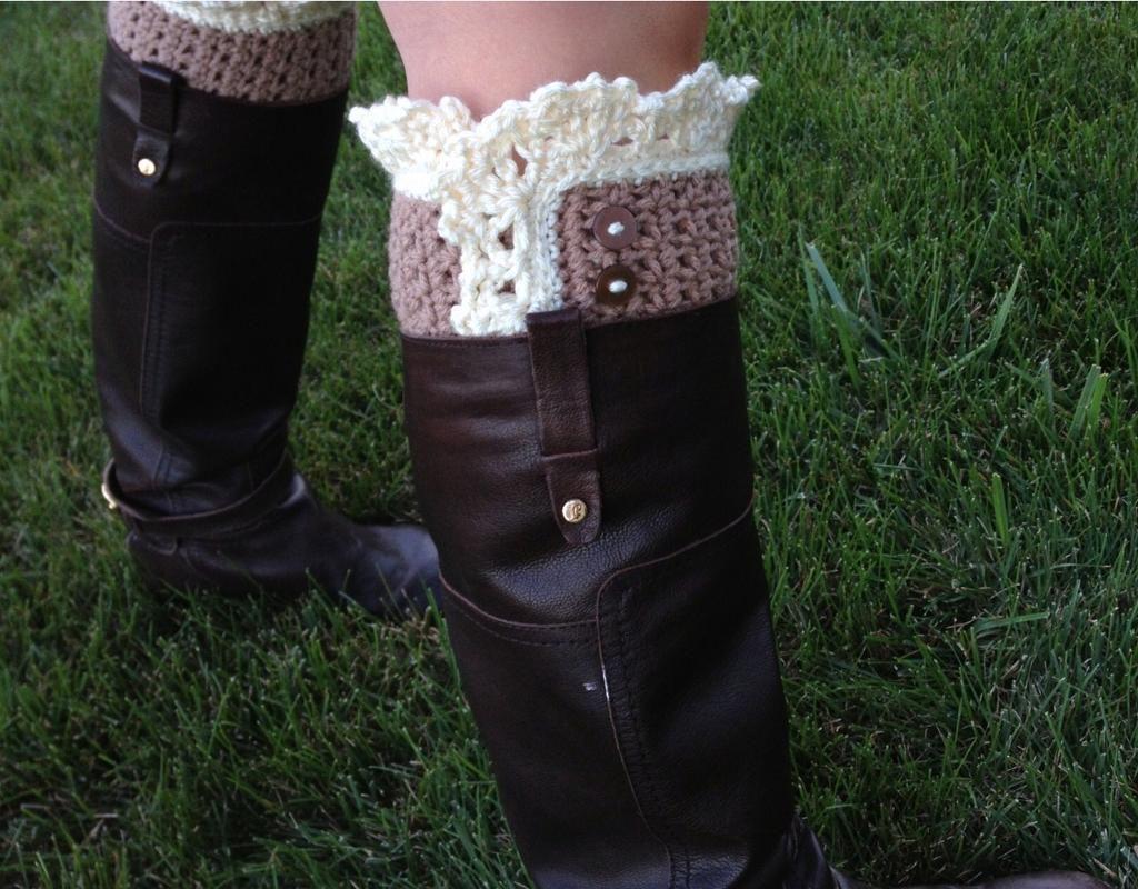 Boot Cuffs-Lace Style