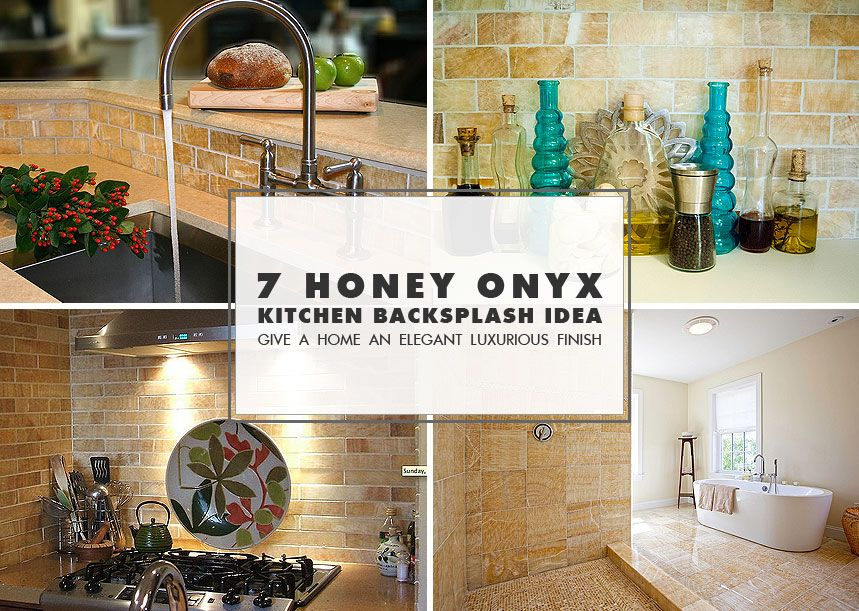 honey onyx kitchen backsplash tile ideas from backsplash com ideas rh pinterest ca Honey Onyx Granite honey onyx subway tile backsplash