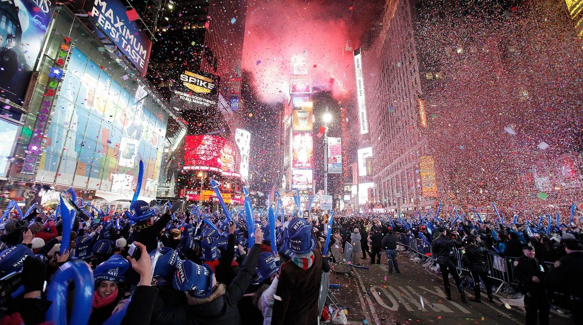 The Times Square Ball Is A Time Ball Located In New York City S