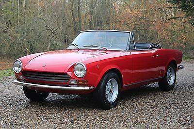 Uk Classic Cars 1969 Fiat Sport Spider Fiat Abarth Pinterest