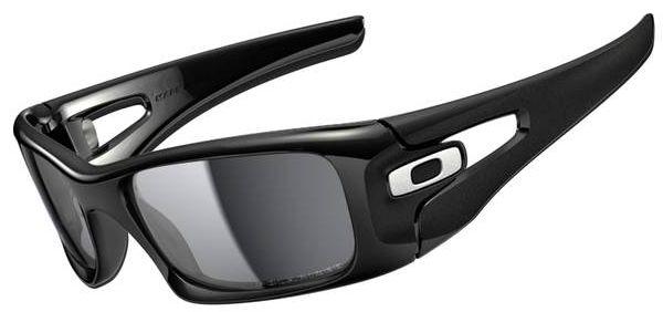 016289c7be4b Oakley Crankcase Sunglasses with Polished Black Frame and Black Iridium  Polarized Lenses