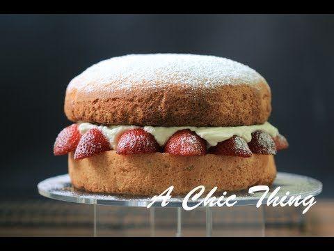 فيكتوريا كيك Victoria Sponge Cake Victoria Sponge Cake Food Cake Lover