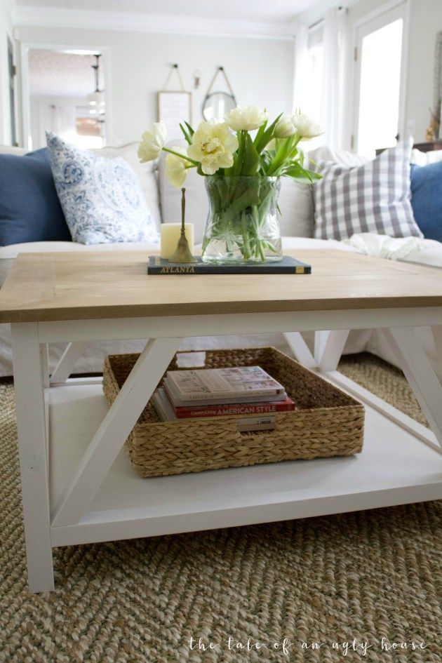 Diy Modern Farmhouse Coffee Table Modern Farmhouse Table Decor