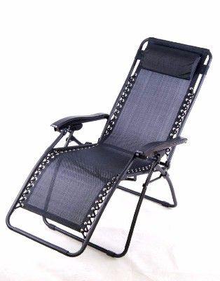 3 Outsunny Zero Gravity Recliner Lounge Patio Pool Chair