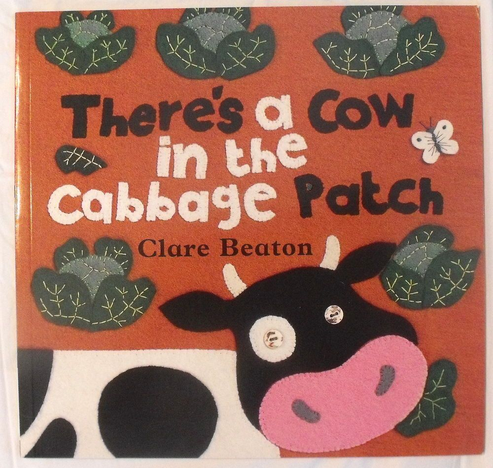 Barefoot bookstheres a cow in the cabbage patch new clare