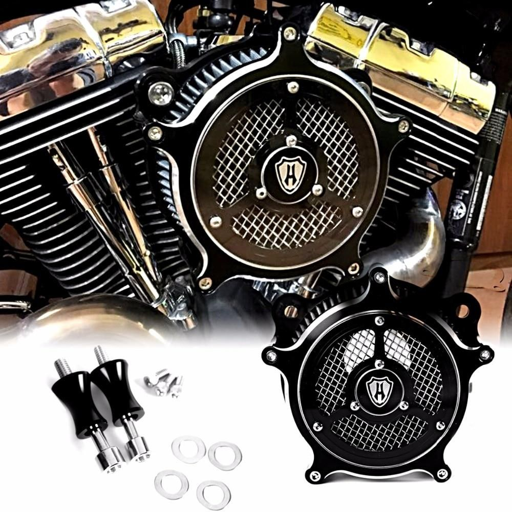Clarity Venturi Air Cleaner Intake Filter System For Harley Dyna