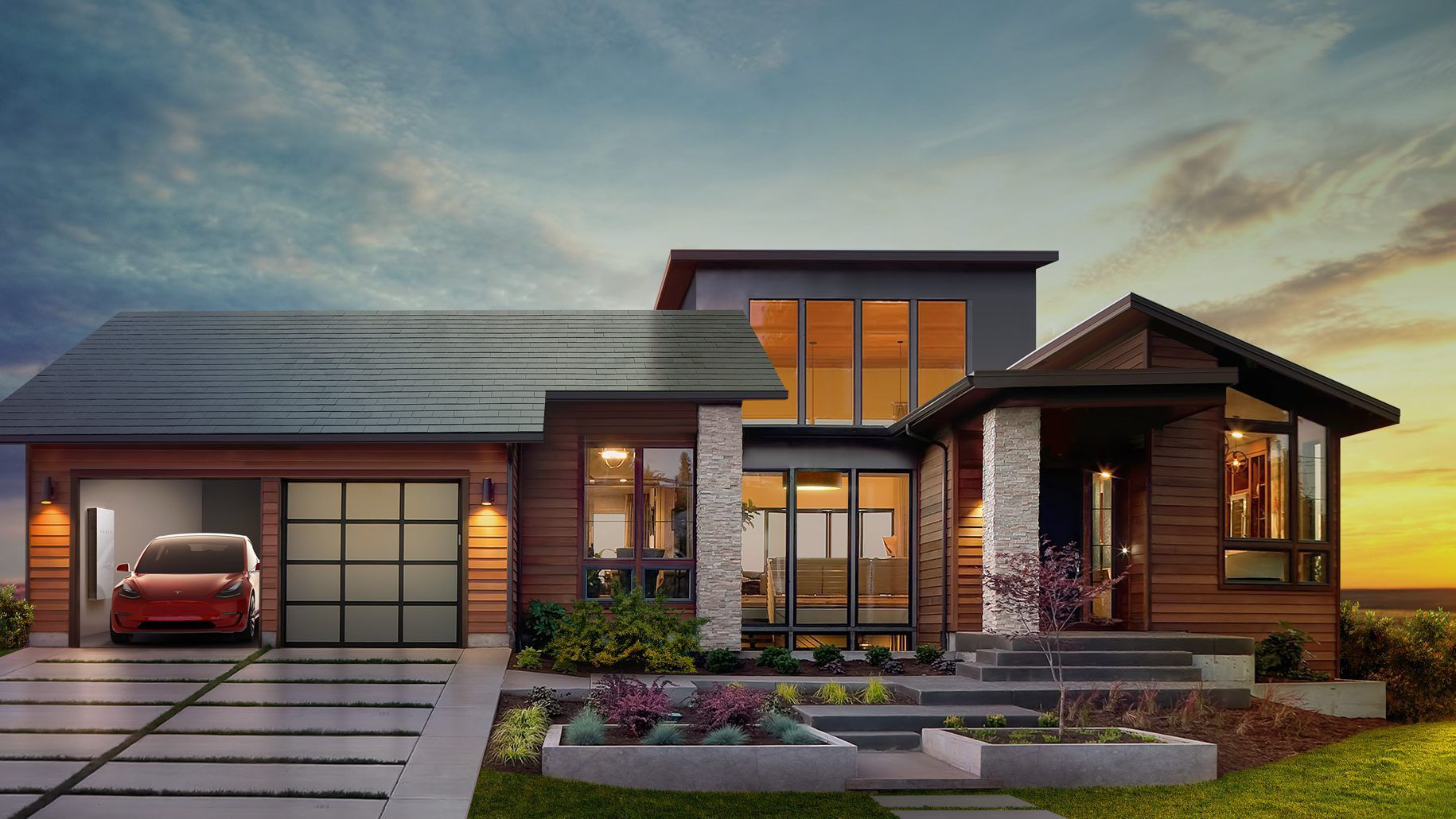 Elon Musk Tesla Tsla And Solar City Are Using Apple S Playbook To Turn Your Roof Into A Gorgeous Solar Powe Solar Roof Shingles Tesla Solar Roof Solar Tiles