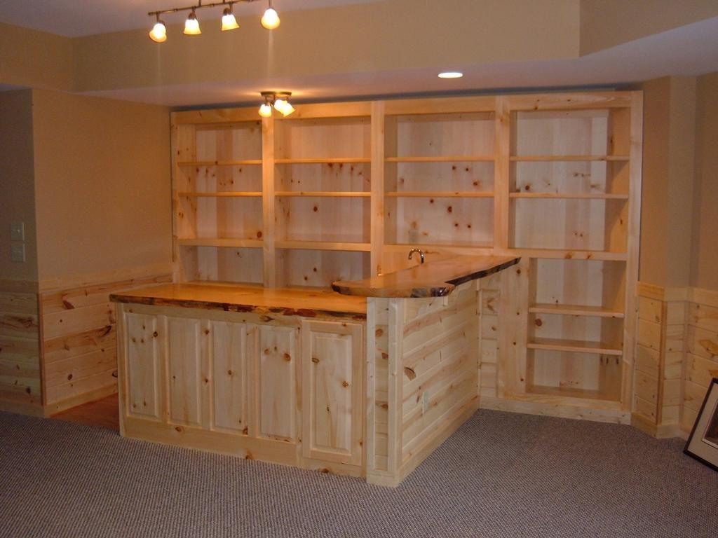 Basement Free Bar Plans For Your Basement With Basement Bar