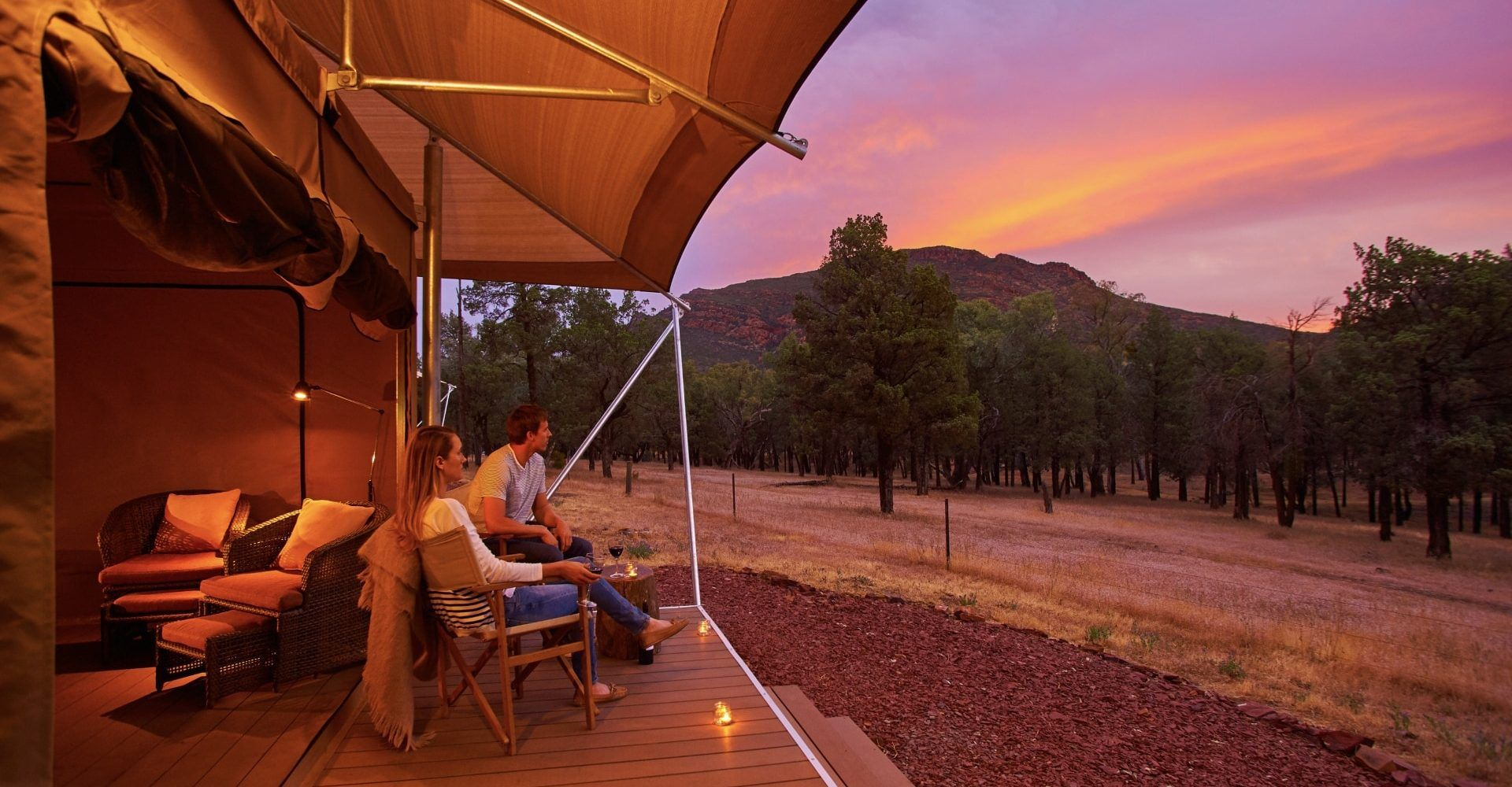 Luxury and Glamping Tents   Eco Structures   Australia ...