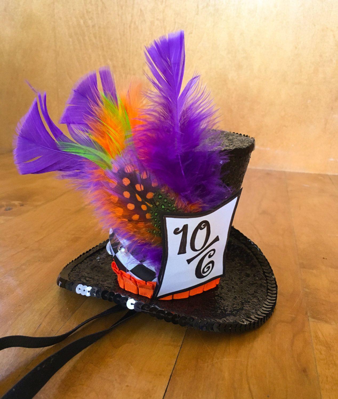 Beyond The Fringe Mini Hat Pins: Mad Hatter Costume Hat