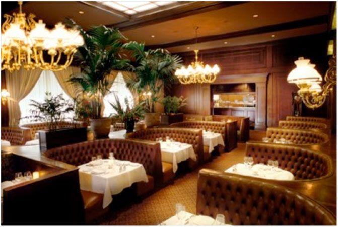 Harris Restaurant San Francisco A Clean Well Lighted