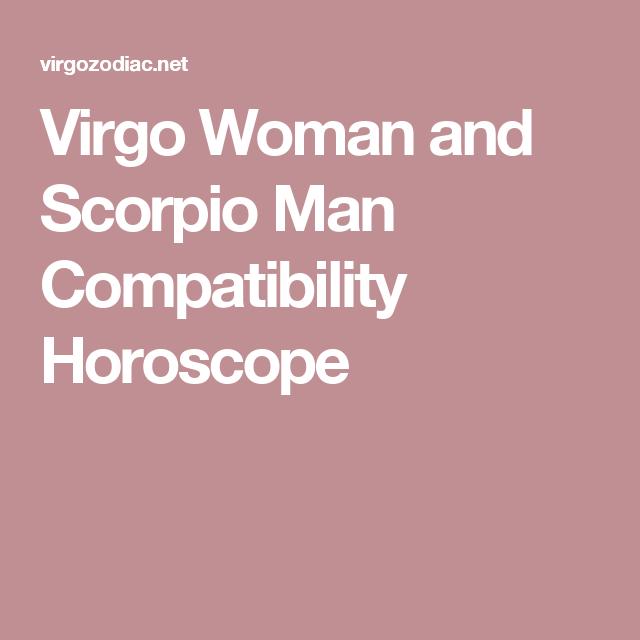 Scorpio man & virgo woman