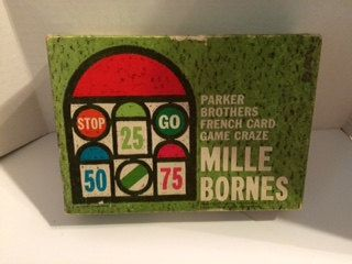 Vintage 1964 Parker Brothers Mille Bornes French Car Racing Card Game Complete by CrystalTreasureTrunk on Etsy