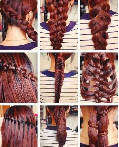 No Tutorials But Some You Can Figure Out Hair Cool Hairstyles Hair Hacks