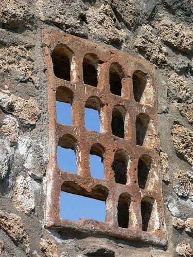 Pompeii Window Grate