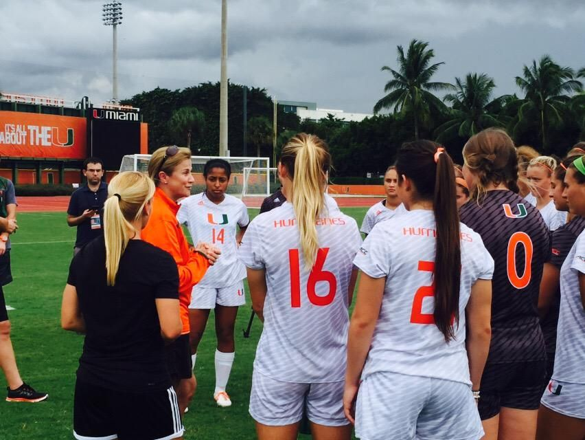 Jenn Strawley On Twitter Soccer Team Coach Miami Hurricanes