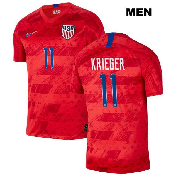 Away+Ali+Krieger+no.+11+USMNT+Men+Red+Soccer+Jersey #Canada