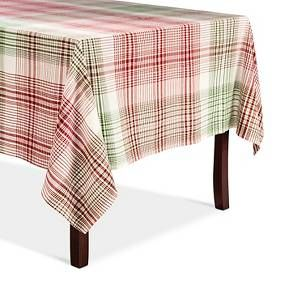 decorative touch for diy holiday curtains christmas plaid tablecloth threshold target
