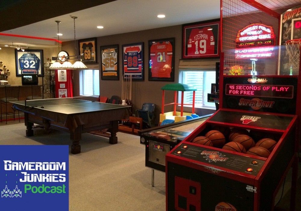This Sports Fanatic S Gameroom Is A Home Run Video Game Room