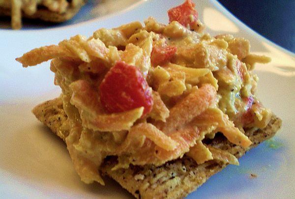 Recipe: Pimento Cheese Spread #vegan