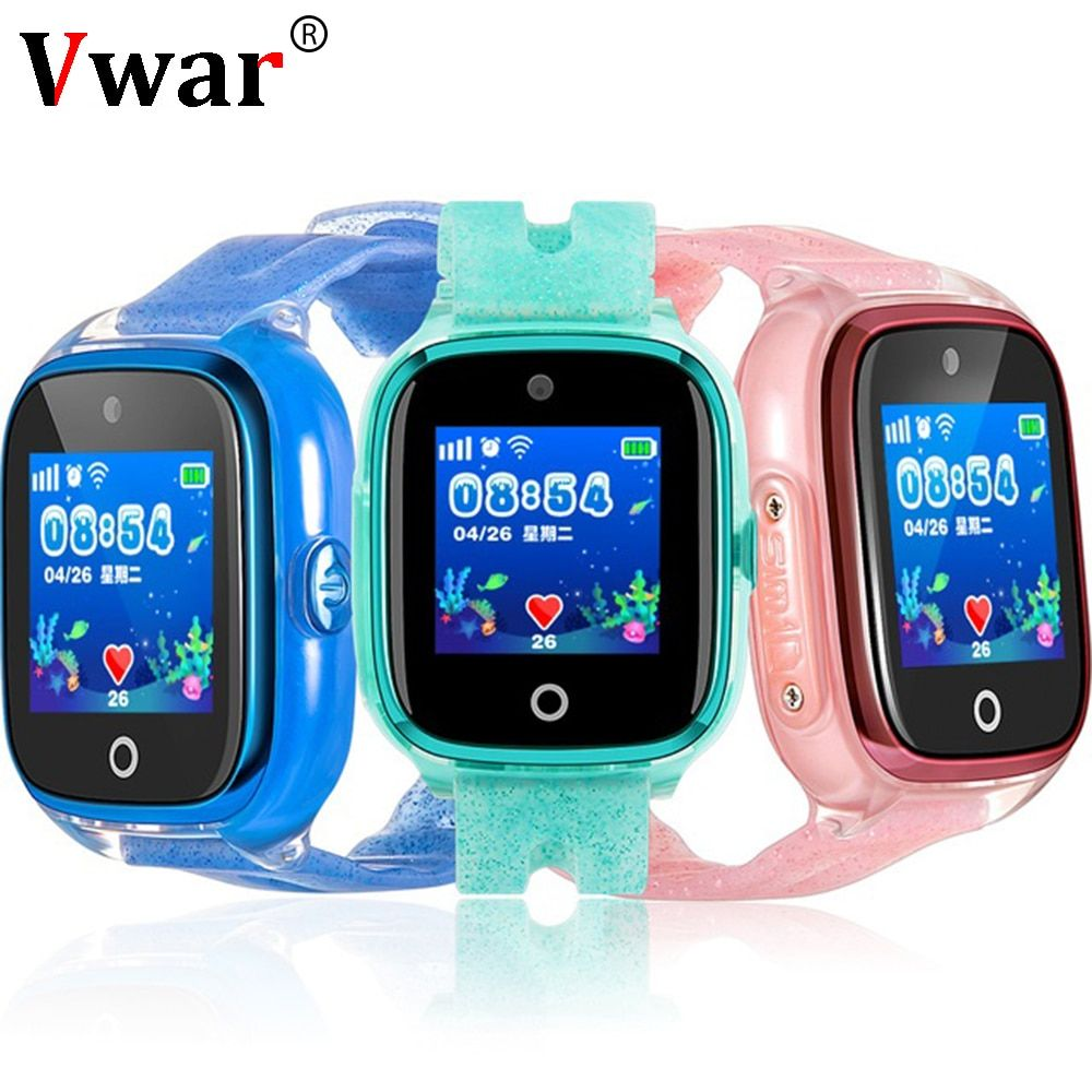 Df34 Children Gps Phone Smart Watch With Camera Baby Watch Swim Ip67 Waterproof Sos Call Tracker Kids Safe Anti Lost Monitor Revie Smart Watch Camera Watch Gps