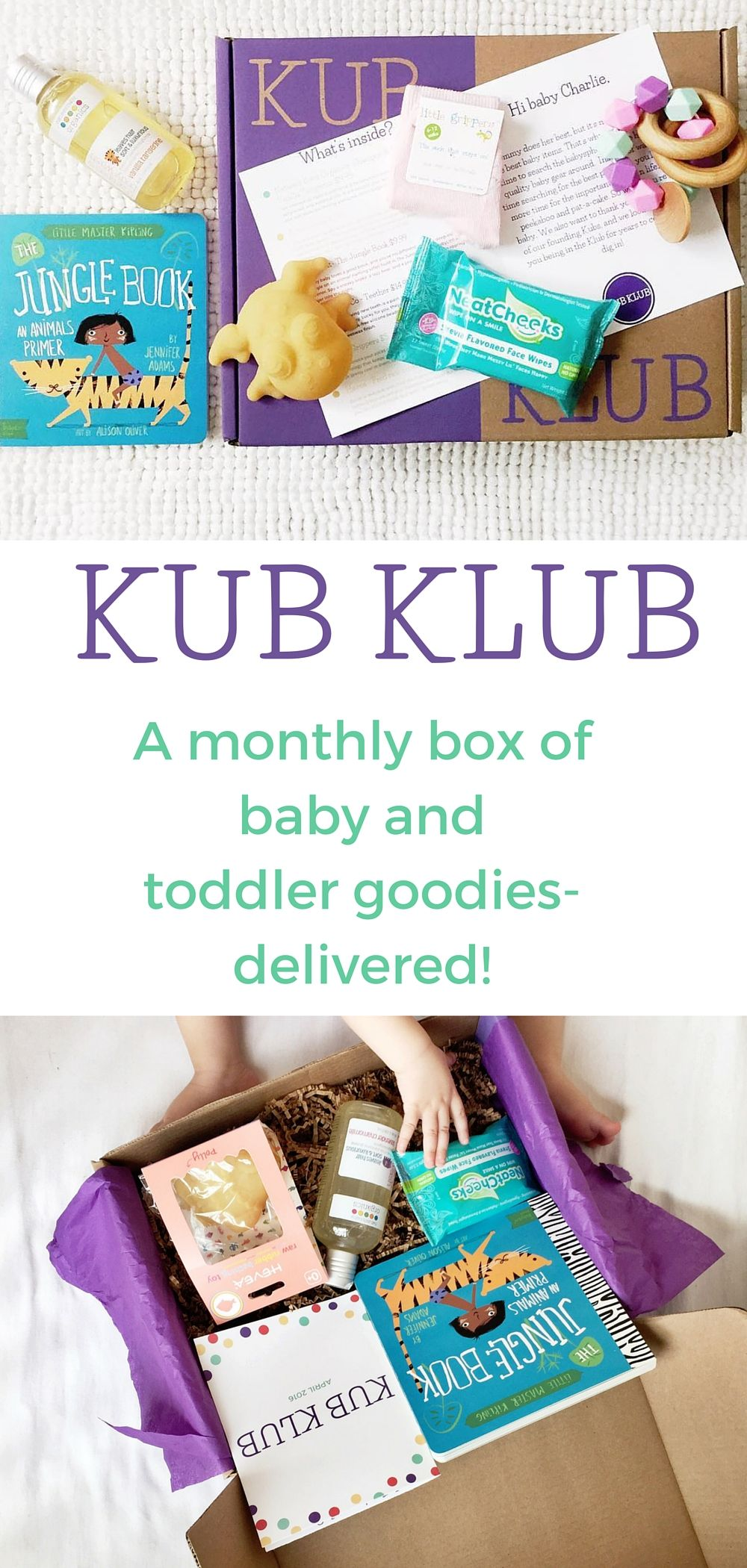 Baby Toys, Gear & Gifts Every Month