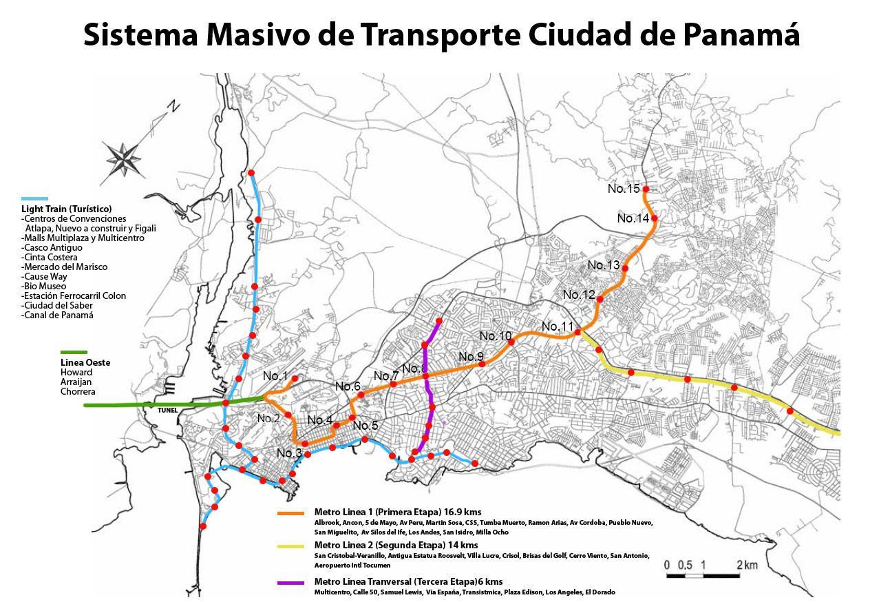 Panama Subway Map.Panama Metro Map Amazing Faces Places Map Panama