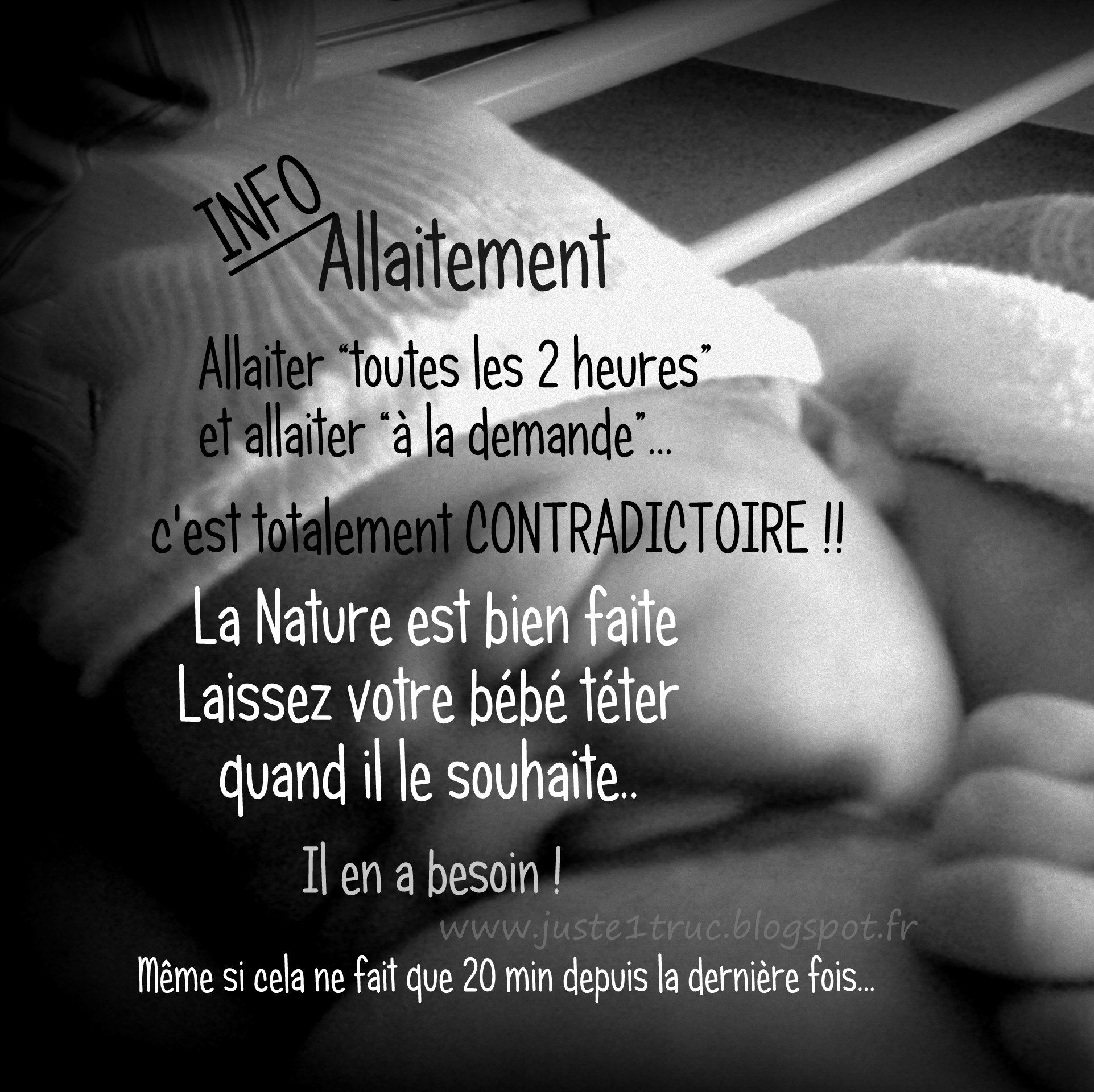 Allaiter c'est à la demande Breastfeeding is when baby wants (needs) and not every 2 hours #allaitement #bebe #naissance #allaiter #maternage