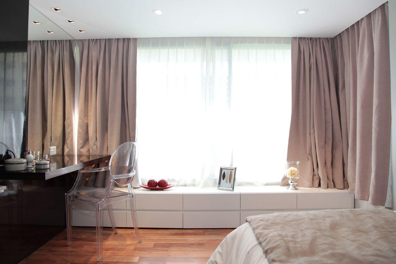Habitaci n principal escritorio para maquillaje con silla - Escritorio para habitacion ...