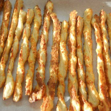 Parmesan cheese straws in recipes on the food channel appetizers parmesan cheese straws in recipes on the food channel forumfinder Images