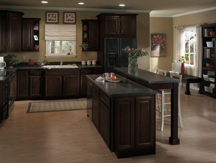 espresso kitchen cabinets   Espresso Kitchen Cabinets   Kitchen ...
