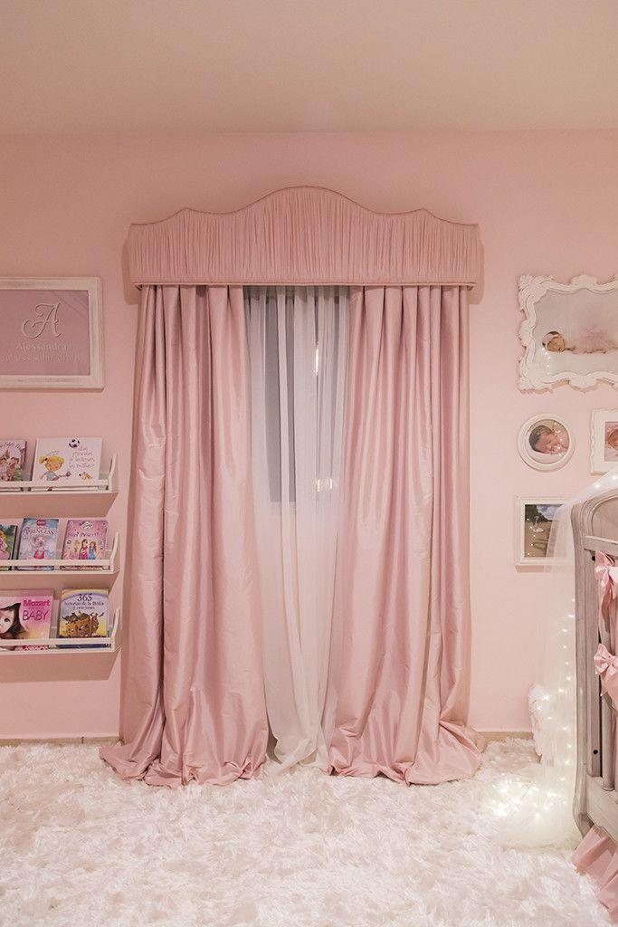 Ballerina Princess Nursery Room Cortinas para habitacion