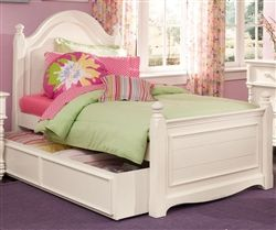 Lea Furniture Hannah Collection White Trundle Bed Hannah Twin