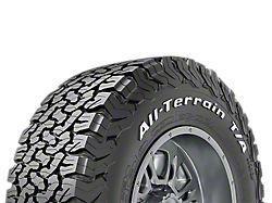 Bf Goodrich All Terrain T A Ko2 Tire Available From 29 In To 35 In Diameters All Terrain Tyres Terrain Tire