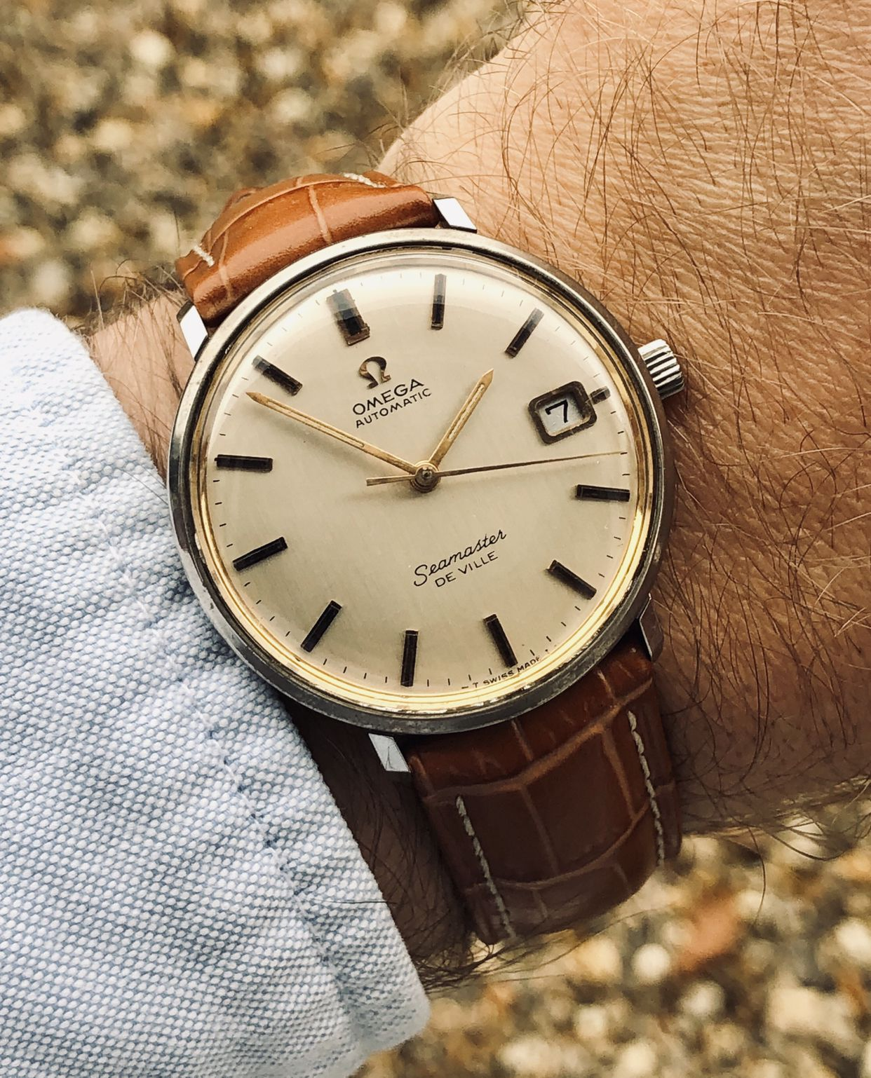 Omega Seamaster De Ville Automatic Men S Vintage Watch Herren Mode Uhr Mode
