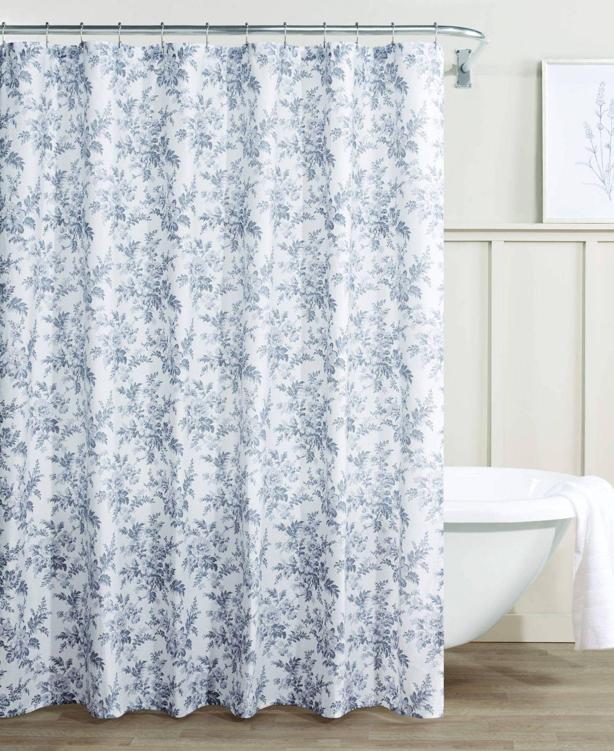 Laura Ashley Annalise Floral 100 Cotton Shower Curtain Reviews