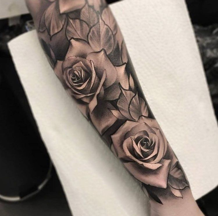 Pin By Mickey Mcelroy On Rosie Tattoo Inspiration Sleeve Tattoos Rose Tattoo Sleeve Rose Tattoos For Men