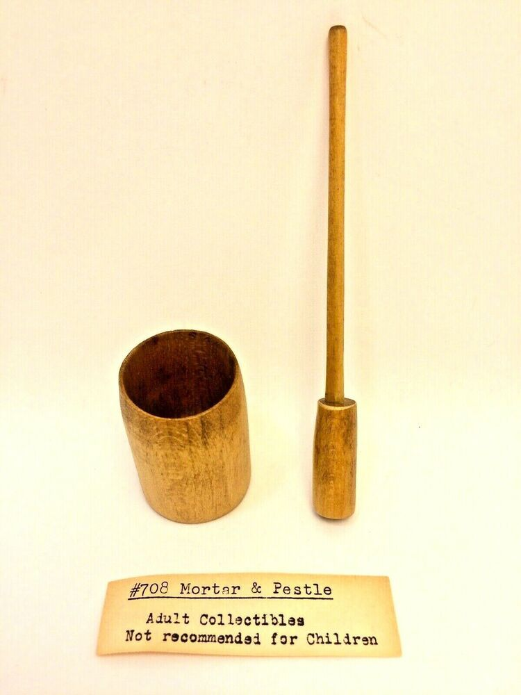 MINIATURE DOLLHOUSE 1:12 SCALE MORTAR /& PESTLE SIR THOMAS THUMB 708