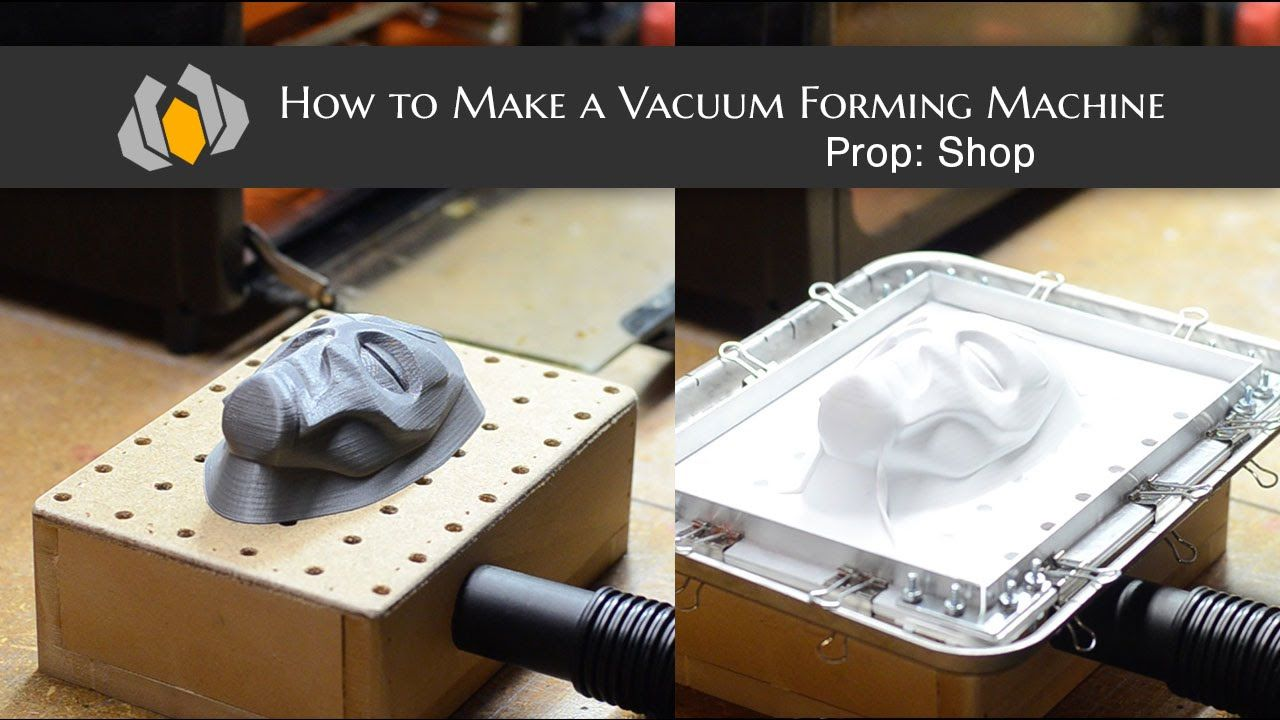 Prop Shop How To Make A Vacuum Forming Machine Our