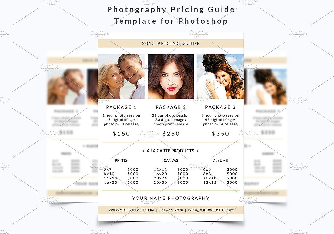 pricing template free