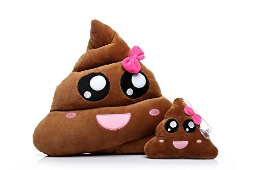 Material: Plush;pp cotton; Big One Size: 15 x 14 inches; Small One Size: 6 x 5 i...