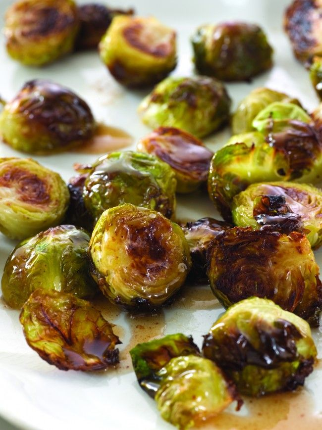 Browned Brussels with Maple Butter from Choosing Sides