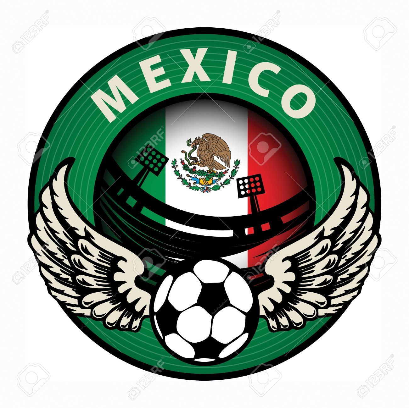 18230726 Label With Football And Name Mexico Stock Vector Mexico Soccer Jpg 1300 1298 With Images Car Bumper Stickers Bumper Stickers Mexico Soccer