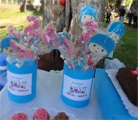 Galletas decoradas DecorCookie: Mesa dulce de Pocoyo